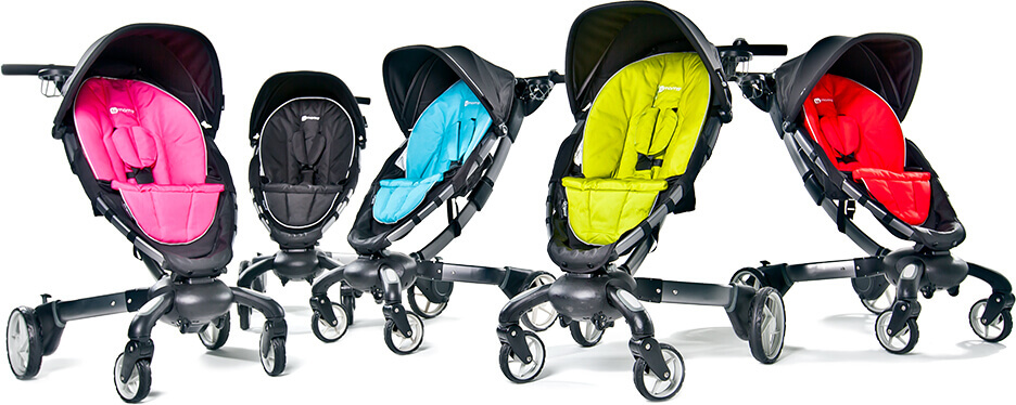 4Moms Origami High-Tech Stroller Review Video - ABC News | 374x936