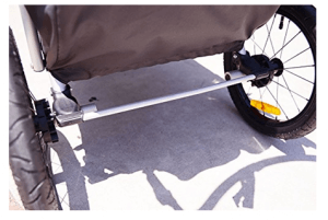 Allen Sports JTX-1 Trailer -Swivel Wheel Jogger - best jogging stroller for baby