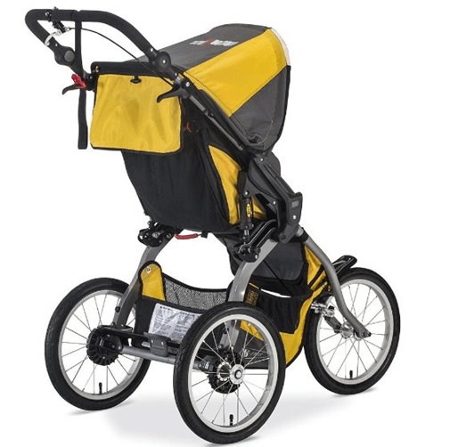 BOB 2016 Ironman - best jogging stroller review , big storage for shopping