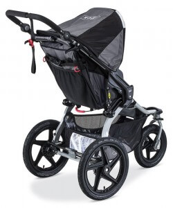 BOB 2016 Revolution FLEX Stroller Review - Best Jogging Stroller , big storage for shopping