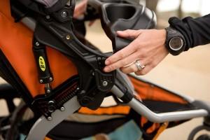 BOB Revolution SE Single Stroller - best joggins stroller , weight and one hand fold