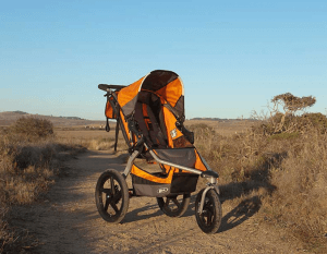 BOB Revolution SE Single Stroller - best joggins stroller , wheels