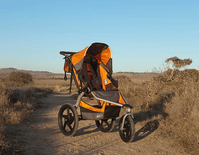 BOB Revolution SE Single Stroller - best jogging stroller , wheels
