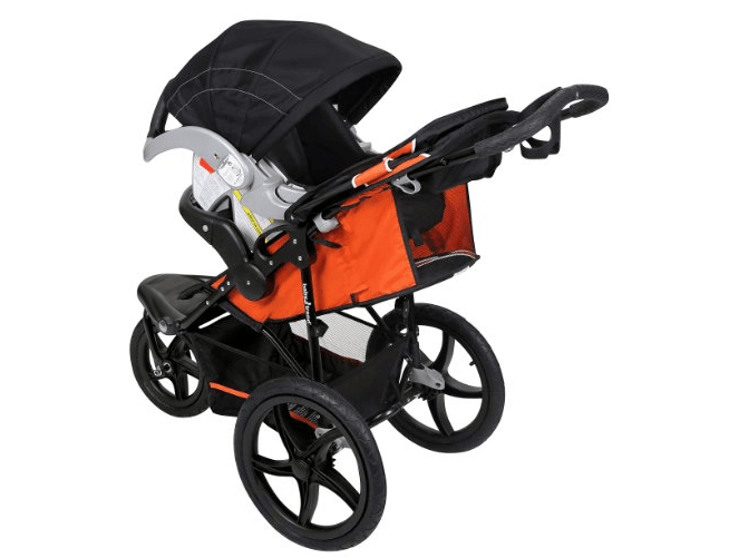 Baby Trend Xcel Jogger Stroller, - big storage for shopping