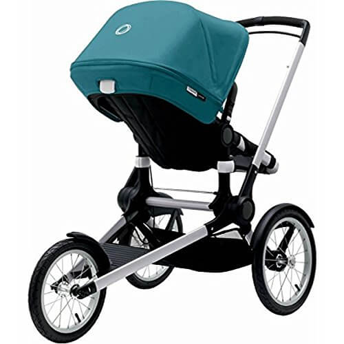 Bugaboo Runner Stroller Review - reversible seat while jogging with baby