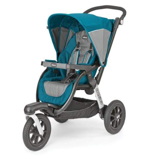Chicco Activ3 Jogging Stroller - best single jogging stroller