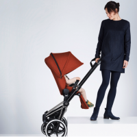 Cybex PRIAM Stroller Review - perfetc two wheels travel system UK USA