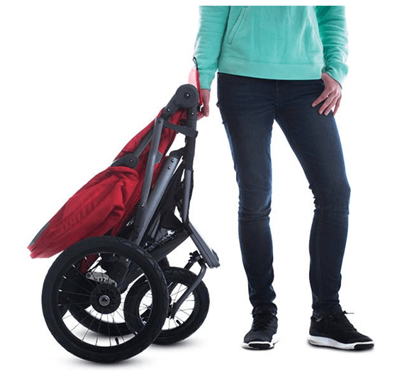 JOOVY Zoom 360 Ultralight Jogging Stroller - best jogging stroller , one hand fold stroller