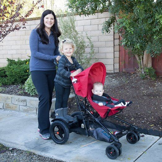 Joovy TooFold Stroller Review - best stroller for parks