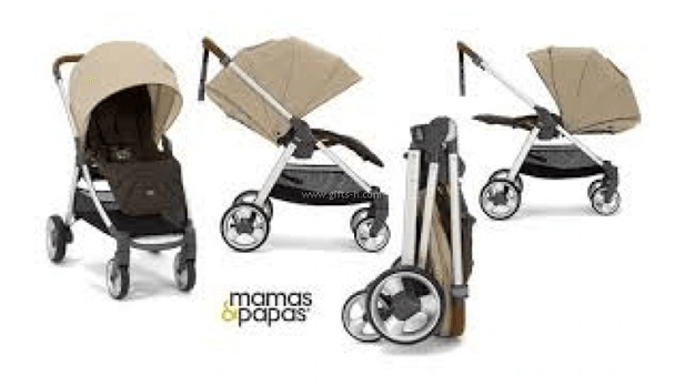 Mamas & Papas Armadillo Flip XT Stroller Review - easy one hand compact fold with multi color options