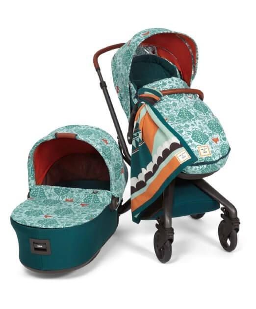 Mamas & Papas Mylo 2 Review - car seat with stroller