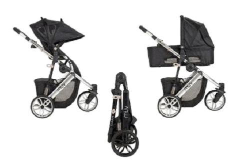 Muv Gaan Stroller Review - one hand fold stroller for first time mother