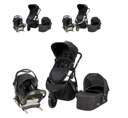 Muv Gaan Stroller Review - stroller with reversible seat and deattachable seat