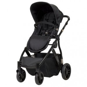 Muv Reis Stroller Review - confortable seat and large storage box