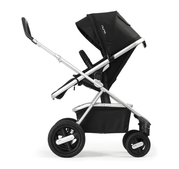 Nuna IVVI Stroller Review - Single stroller with big storage box