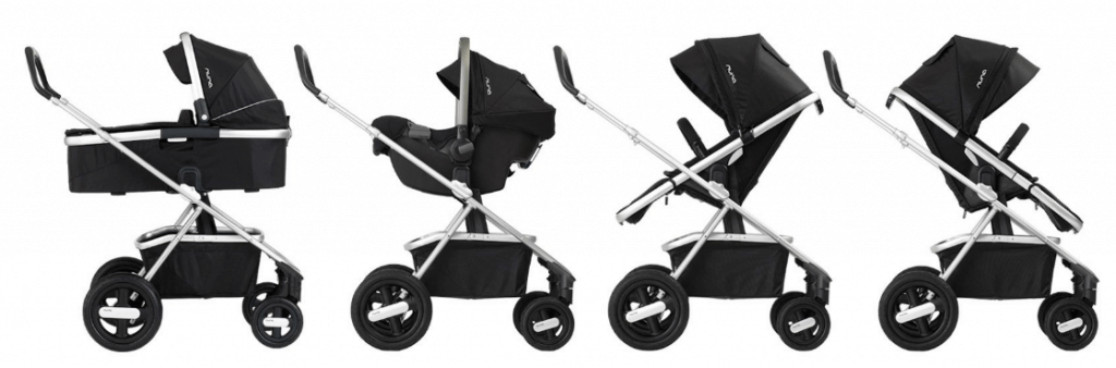 Nuna IVVI Stroller Review - safest stroller for parks and playground canada