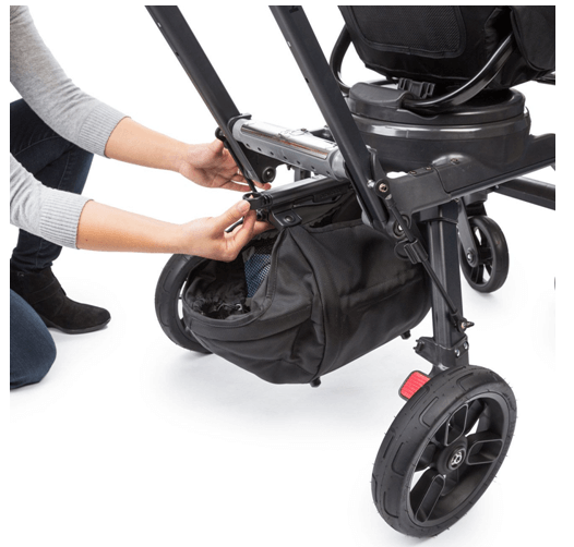 Orbit Baby G3 Stroller Review - best storage under stroller with adjustable bar