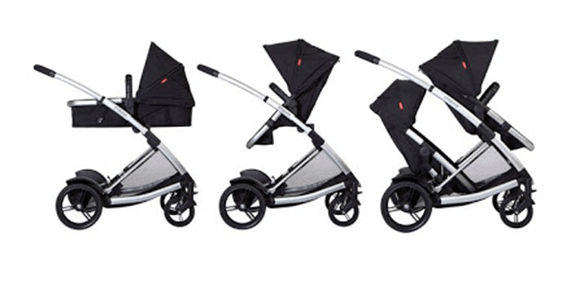 Phil & Teds Promenade Stroller Review - best stroller with double configurations complete travel system