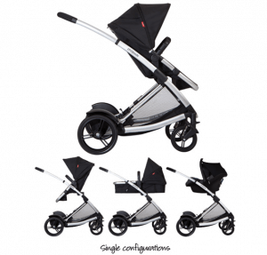 Phil & Teds Promenade Stroller Review - extra double seat with car seat for travelling