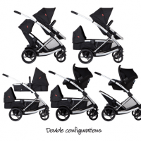 Phil & Teds Promenade Stroller Review - stroller with double configurations