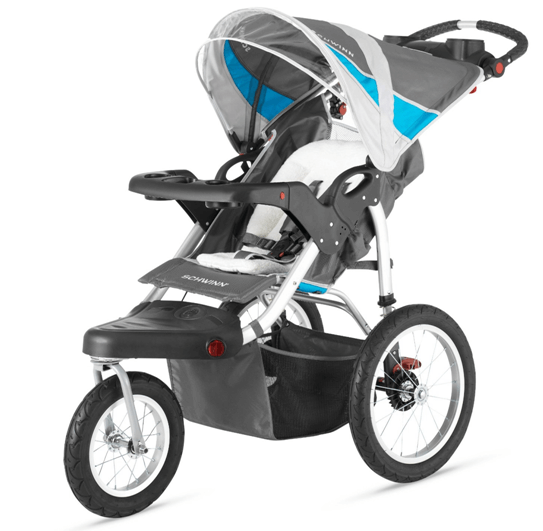 Schwinn Turismo Single Swivel Stroller - best single jogging stroller