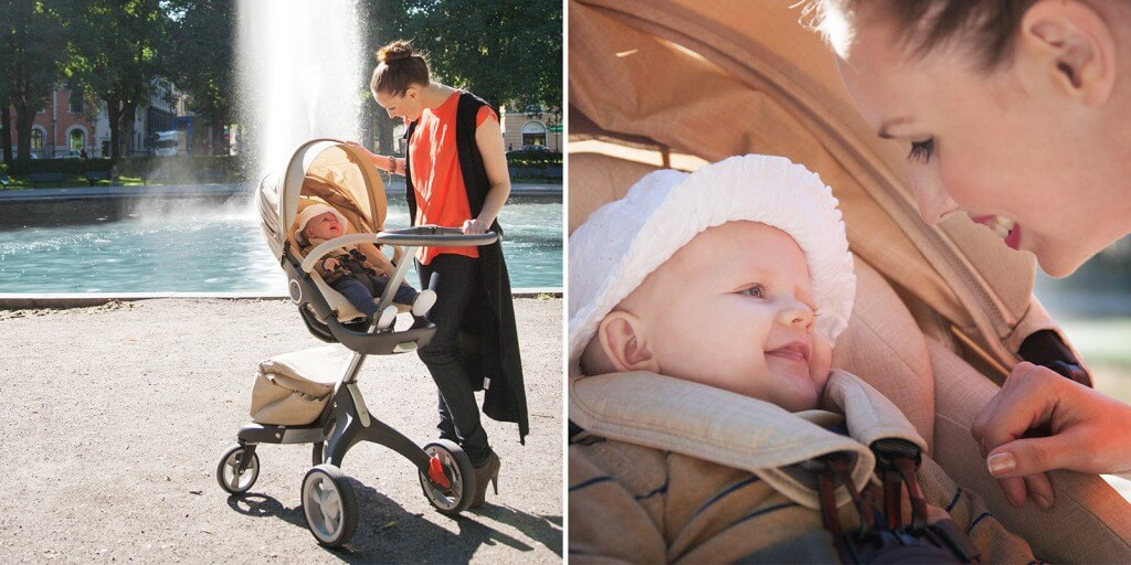 Stokke Xplory Stroller Review - Material quality