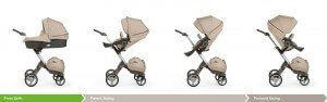 Stokke Xplory Stroller Review - compatibility