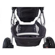 UPPAbaby Vista 2015 stroller Review - basket and big storage stroller