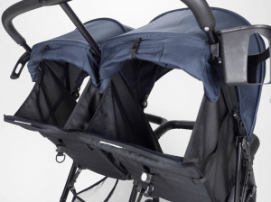Zoe XL2 Xtra Review Lightweight Best double stroller (Designer) - 16 LBS lightweight stroller with bigger storage options