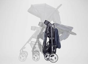 Zoe XL2 Xtra Review Lightweight Best double stroller (Designer) - Compact stroller one hand fold