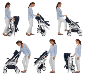 Inglesina Trilogy Stroller Review- Handle safety & fold