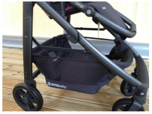 2015 UPPAbaby Cruz Stroller Review - Big Storage Box Under The Baby Seat