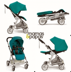 Mamas & Papas Urbo2 Stroller Review - Seat & canopy