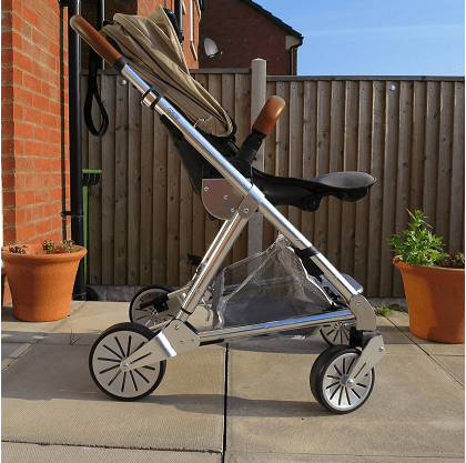 Mamas & Papas Urbo2 Stroller Review- Height & weight