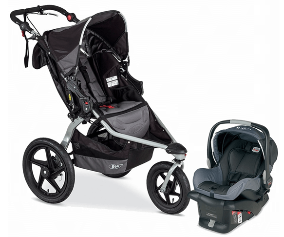 BOB Revolution Pro Review - baby car seat for new born