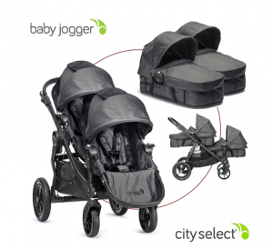 Baby Jogger 2016 City Select Review - comfortable car seat with single stroller