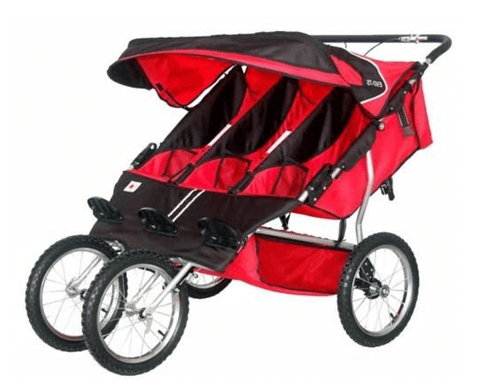 BeBeLove USA Triple jogging Stroller Review