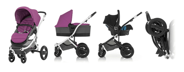 Britax Affinity Stroller Review - complete all terrain stroller with car seat