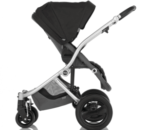 Britax Affinity Stroller Review - huge canopy with strong wheels with bassinets