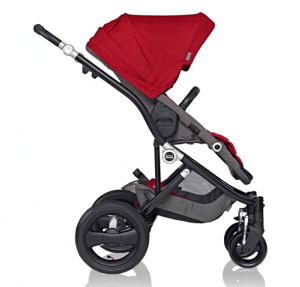 Britax Affinity Stroller Review - perfect all terrain with bassinets with car seat