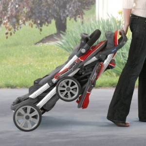 Chicco Cortina Together Best double stroller Review - easy one hand fold stroller