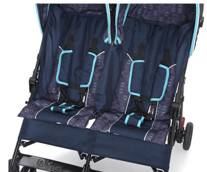 Delta Children LX Side by Side Stroller Review - Comfortable seat and canopy for baby