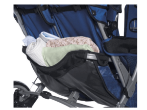 Foundations LX3 Passenger Stroller Review - Side Storage Space Stroller