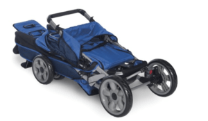 Foundations LX3 Passenger Stroller Review - stroller fold under the bed easily