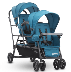 JOOVY Big Caboose Graphite Stand On Triple Stroller Review