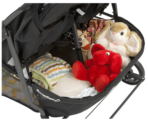JOOVY Scooter X 2 Best double stroller Review - bigger storage for stroller