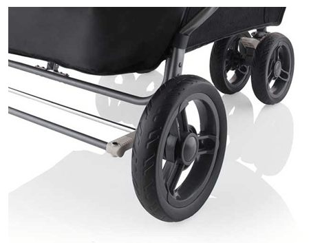 JOOVY Scooter X 2 Best double stroller Review - smooth ride for your baby on bumpy roads