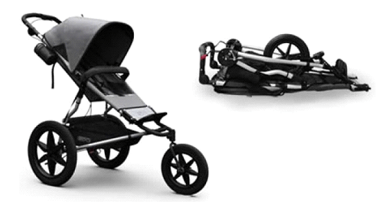 Mountain Buggy Terrain Stroller Review - One Hand Fold Compact All Terrain Stroller