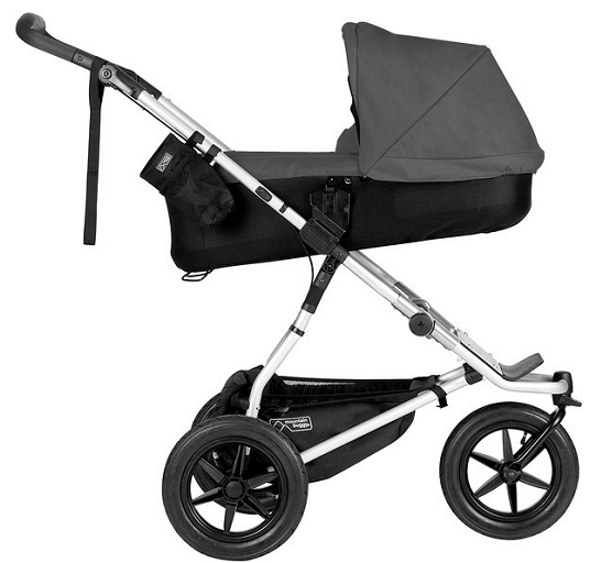 Mountain Buggy Terrain Stroller Review - Under Big Basket Stroller