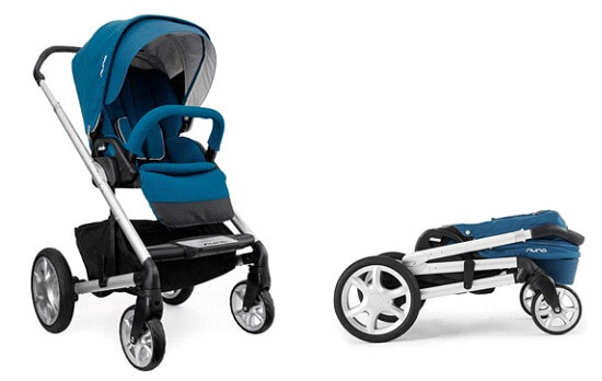 Nuna Mixx Stroller Review - easy one fold compact under bed